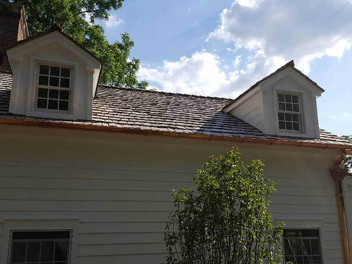 Copper Gutter Installation Project