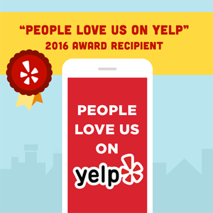 People Love Us on Yelp 2016