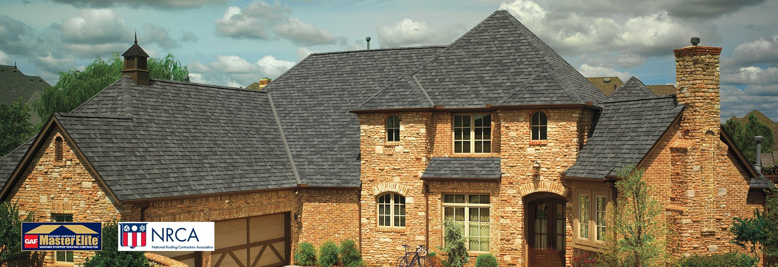 GAF Camelot Antique Slate Roof
